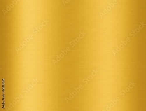 Golden aluminium texture