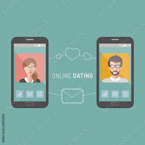 Online interracial dating app
