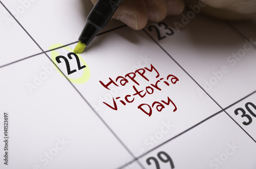 Poster Happy Victoria Day
