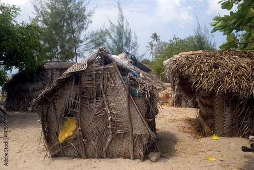 Foto op Aluminium Zanzibar Fishing village, Tumbatu, Zanzibar, Tanzania