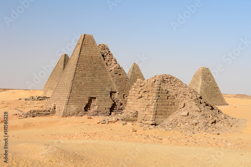 Nubian Pyramids of Jebel Barkal in Sudan