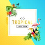 tropical Border Design - 141568618