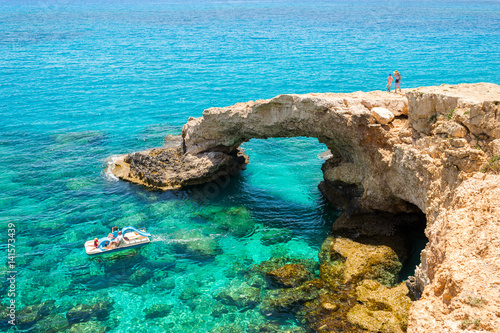 In de dag Cyprus Cyprus, Bridge of Lovers