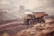 Mining Activity, mining dump truck