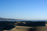 The dunes of Maspalomas in Palma de Gran Canaria, Spain