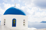 Santorini Church, Blue dome