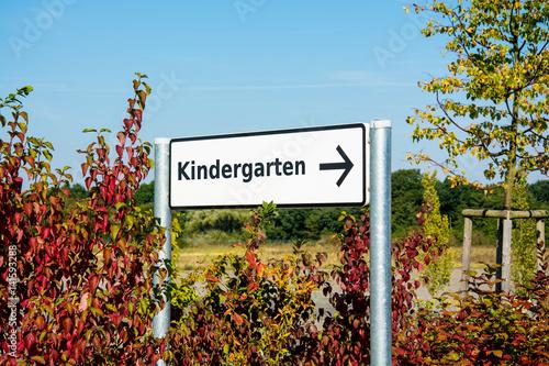 Schild 167 - Kindergarten