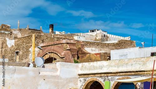 Fotobehang Marokko Architecture of old Essaouira town, Morocco
