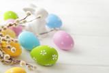 Fototapeta easter eggs