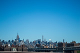 Skyline of Midtown Manhattan as Seen from Brooklyn Bridge, USA - 141621055