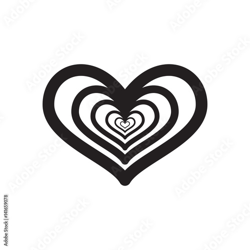 heart, icon, vector illustration eps10