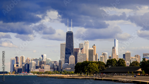 Aluminium Chicago Downtown Chicago