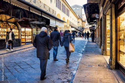 Fotobehang Florence Florenz, Ponte Vecchio