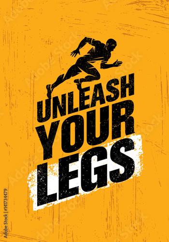 Plakát Unleash Your Legs
