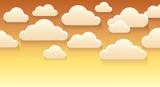 Stylized clouds theme image 4