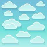 Stylized clouds theme image 6