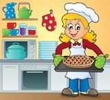 Female cook theme image 9