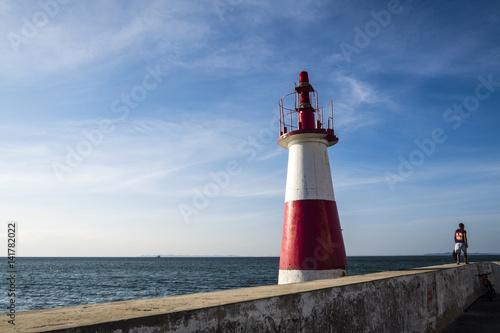 Plakat Coast Todos los Santos Bay in Salvador do Bahia