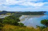 Aerial View of Wenderholm Beach Auckland New Zealand; Regional Park