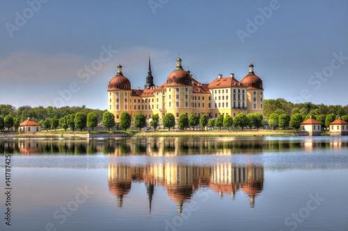 Plakat Schloss Moritzburg (HDR)