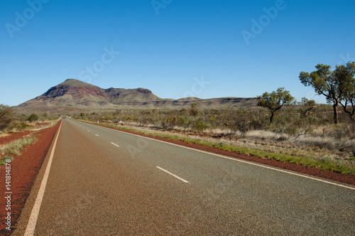 Outback Highway - Western Australia Poster