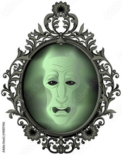 Foto op Aluminium Meisjeskamer The Magic Mirror