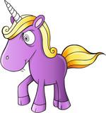 Evil Unicorn Vector Illustration Art