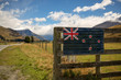 Quadro New Zealand landscape