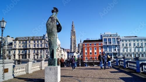 Fotobehang Antwerpen Anvers, Anversoise