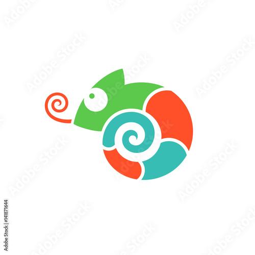 Kameleon. Logo