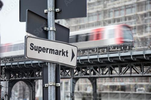 Schild 176 - Supermarkt