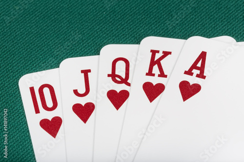 Playing Cards плакат