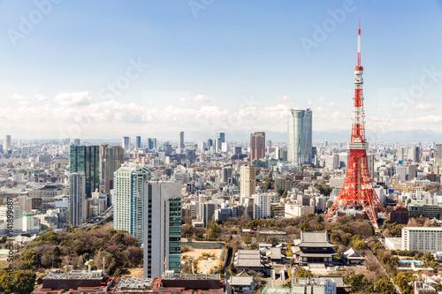 Poster Tokyo Tower, Tokyo Japan