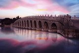 Beautiful sky and bridge at Summer Palace