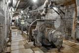 old generators in a bunker