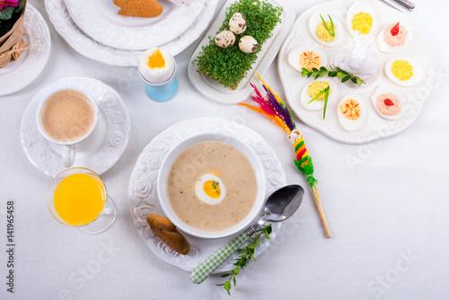 Polish Easter Soup - 141965458