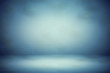 Quadro blur abstract soft  blue  studio and wall background