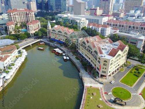 Singapur River Poster