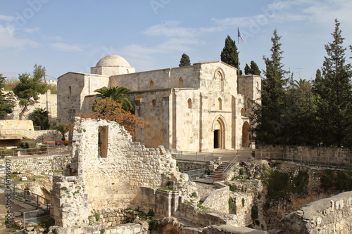 Church of Saint Anne and Pool of Bethesda - Jerusalem - Israel Poster