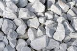 weiße Steine