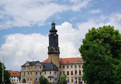 Schloss in Weimar плакат
