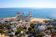 Cape Cod seashore, viewed from Pilgrim Monument, Massachusetts