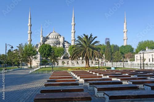 Poster Blue Mosque Sultanahmet