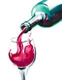 Bottle of wine - 142038646