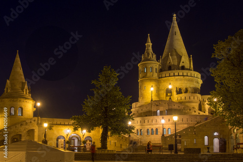 Fishermans Bastion bij night