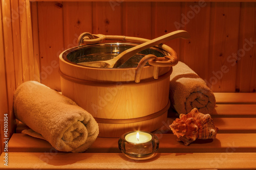 Wellness und Spa in der Sauna