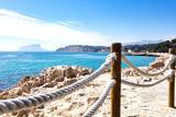 mediterranean coast from Moraira coastline - 142125631