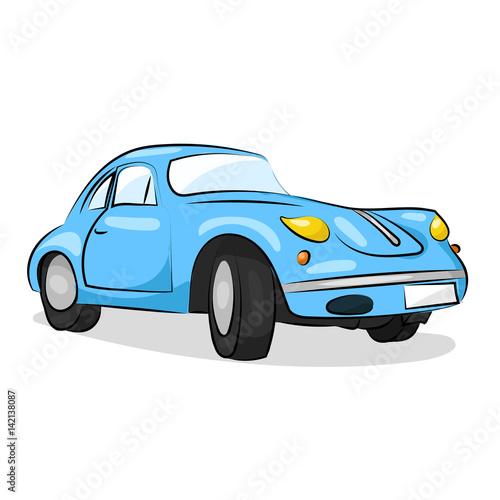 Fotobehang Auto Основные RGB
