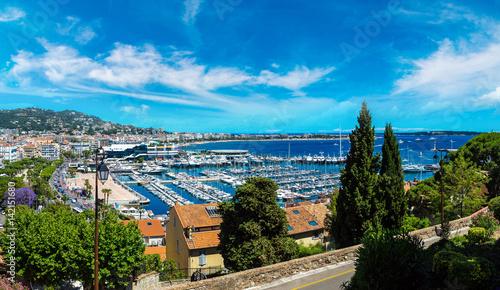 Aluminium Panoramic view of Cannes