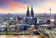 Leinwanddruck Bild - Cologne, Germany